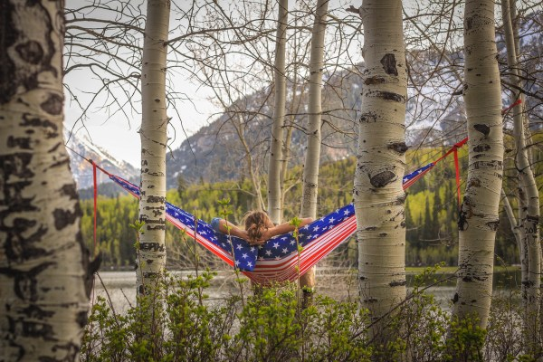 America Hammock over the Mountains