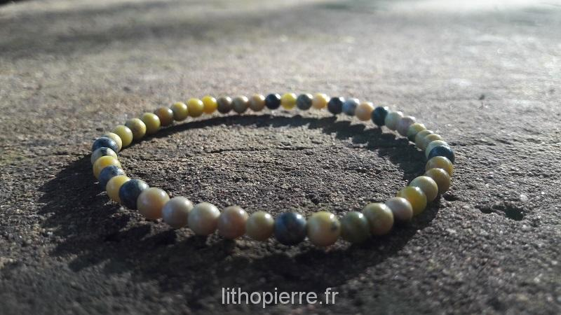Bracelet en serpentine