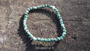Bracelet en agate arborée