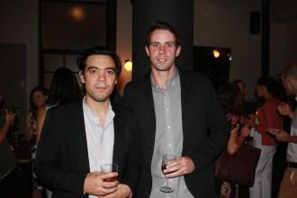 Tynan Kogane and Patrick Hederman.