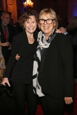 Judy Blume and Carole Baron.