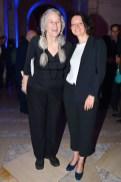 Sharon Olds and Rebecca Godfrey.