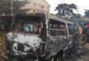 Angry Villagers Torch Matatu That Left Death Trail In Dreadful North Rift Accident