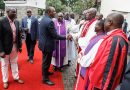 PHOTOS: Uhuru, Ruto Meet in Public For The First Time in 2020, Attend Same Church Service