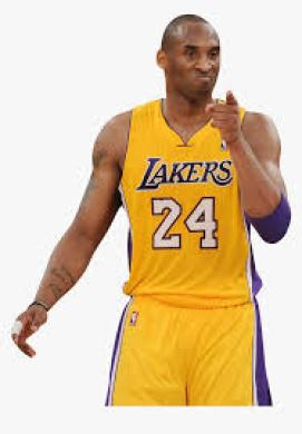 Kobe Bryant gesturing during a past NBA game - NBA's Greatest of All Time (GOAT)