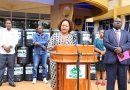 County Distributes Water Tanks to Boost Washing of Hands in Fight Covid-19