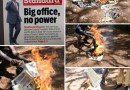 DP Ruto Supporters Burn Copies of 'The Standard' for Reporting That He's Powerless