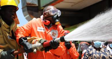 Kericho Launches Fumigation Campaign to Fight Covid-19 Pandemic