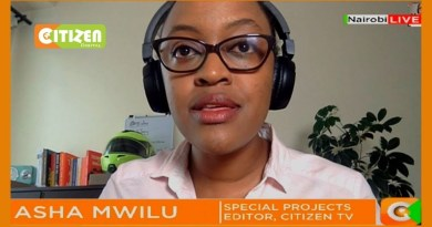Netizens Shower Asha Mwilu With Blessings as She Quits Citizen TV