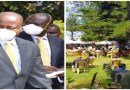 Health DG Amoth, 400 Other Mourners Ignore Covid-19 Rules at Burial in CS Kagwe's Village