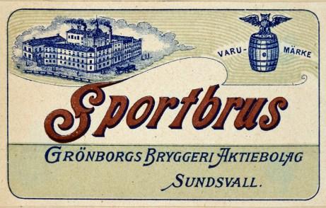 Göran Lundin Donation, Etikett