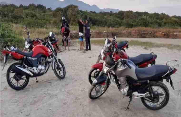 GCM de São Sebastião captura motociclistas que faziam rachas em Boraceia