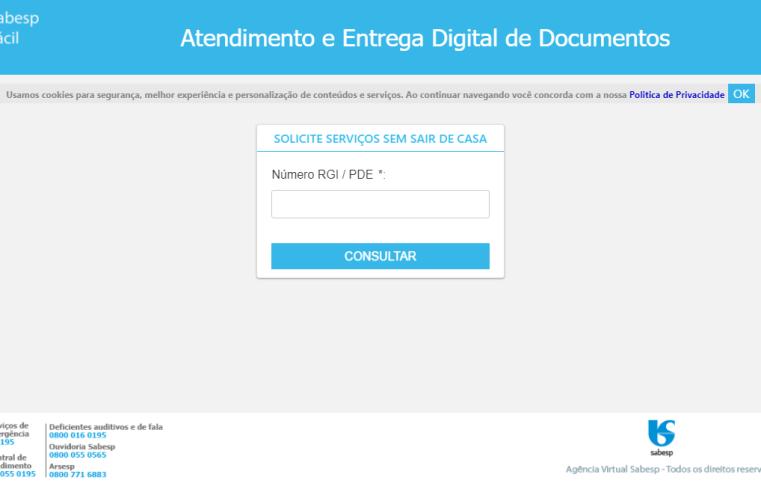 Nova plataforma digital da Sabesp oferece atendimento mais fácil e rápido ao cliente