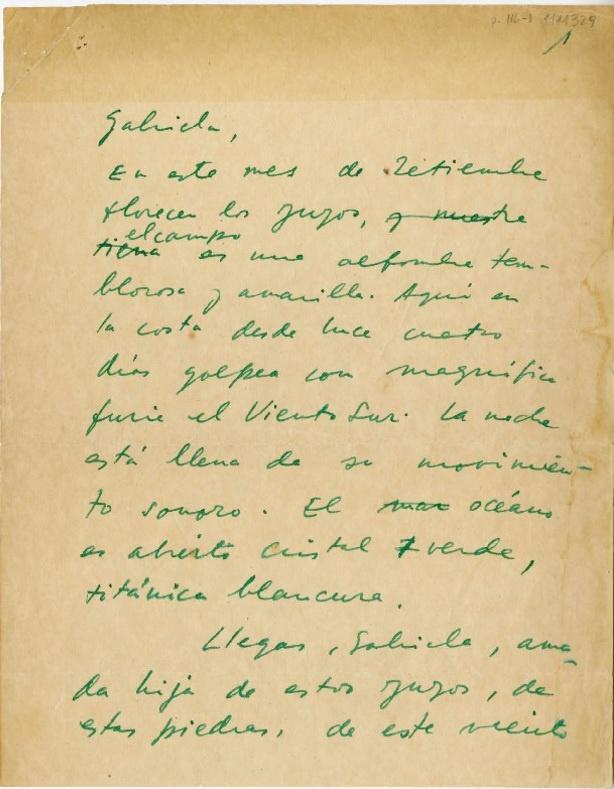 8 de septiembre de 1954: Neruda le da la bienvenida a una Mistral que se despide 1