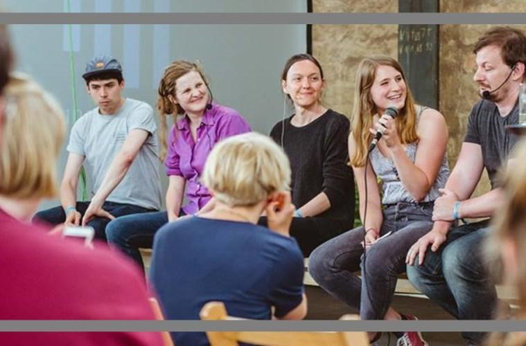 Tristan Marquardt, Maja-Maria Becker und Fabian Thomas im Gespräch über Unabhängigkeit und die Nahrungskette Literaturbetrieb