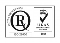 ISO 22000 with UKAS
