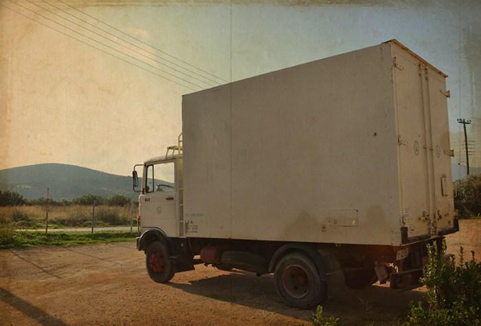 Premier Camion Frigorifique d'Andreas