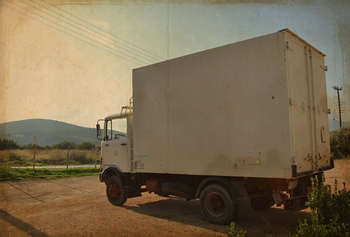 Andreas' First Frigo Truck