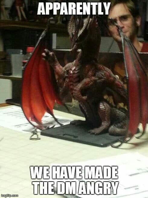 Image result for dungeons and dragons memes