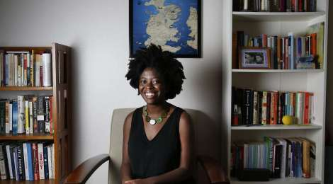 Yaa Gyasi by Leah Millis for The San Francisco Chronicle