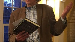 Epic Poetry Reading, Frederick Glaysher, at Sacred Grounds