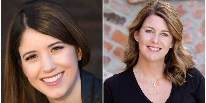 Alexandra Bracken and Tamara Ireland Stone