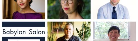 Babylon Salon: Daniel Handler, Jenny Odell, Namwali Serpell, Nancy Au, Jason Sheeler: Fall