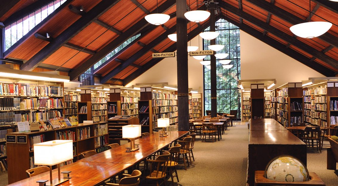 photo of Mill Valley Library by Natasha Lowell