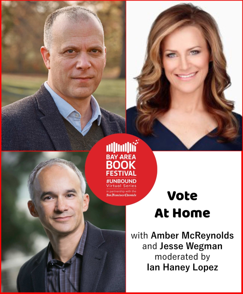 Vote At Home with Amber McReynolds and Jesse Wegman