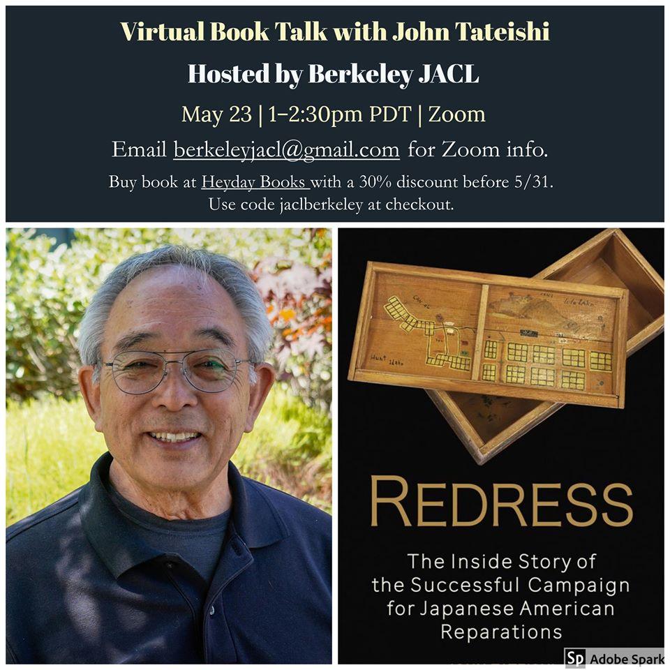 Virtual Book Talk with John Tateishi