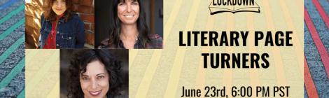 Litquake on Lockdown: Literary Page Turners