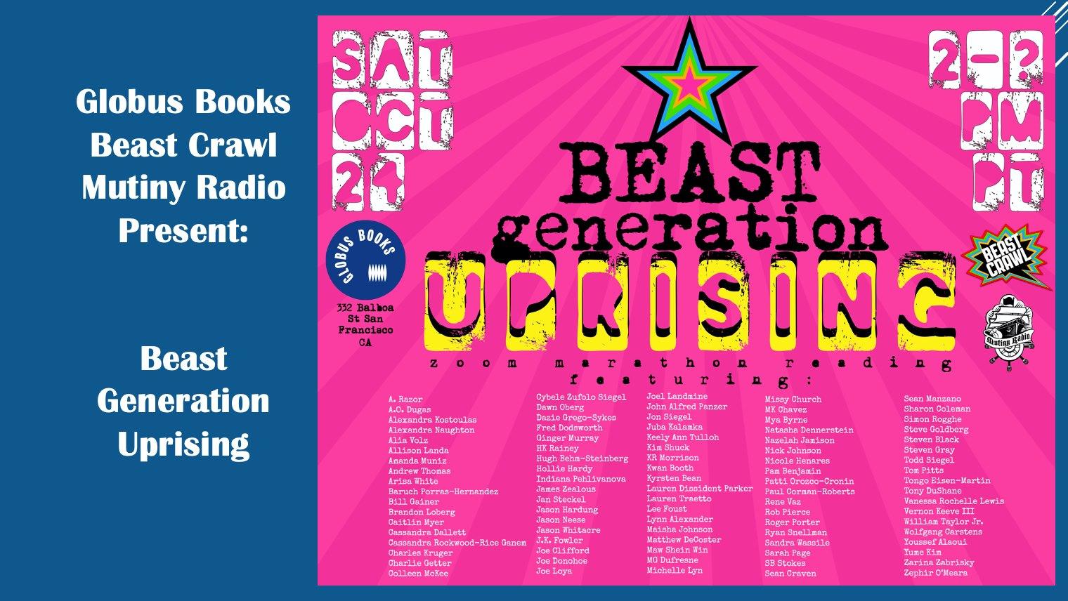 Beast Generation Uprising