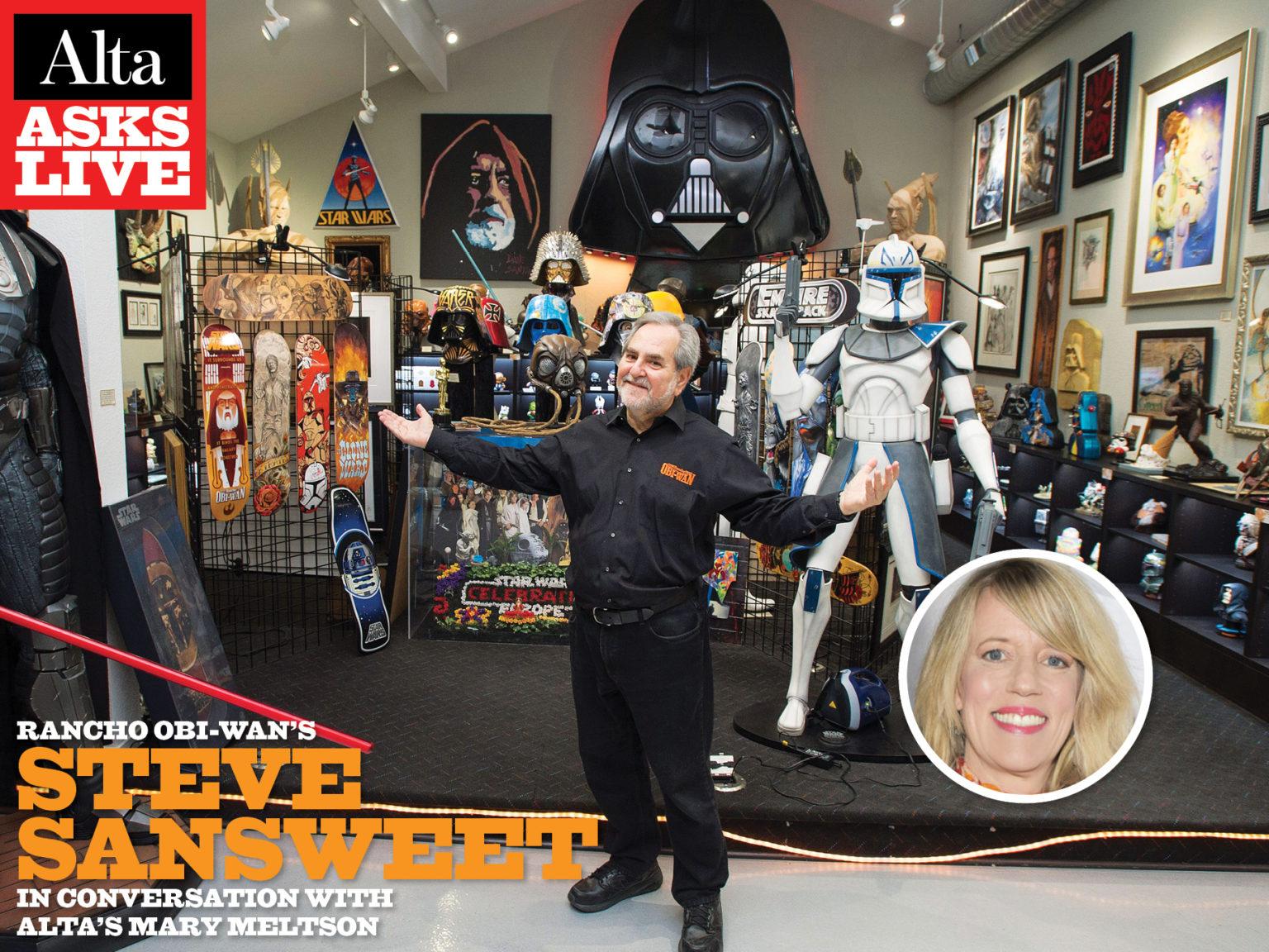 Alta Asks Live: Rancho Obi-Wan's Steve Sansweet