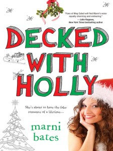 12/14/12 – LitStack's 2 a Day Giveaway: Decked with Holly by Marni Bates