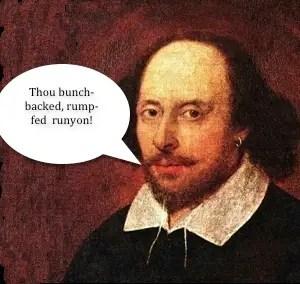 The 10 Best Shakespearean Burns