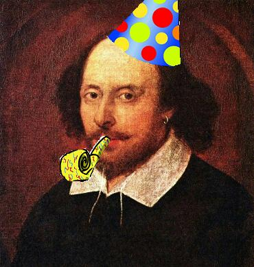 Image result for shakespeare's birthday