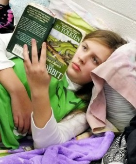 reading The Hobbit