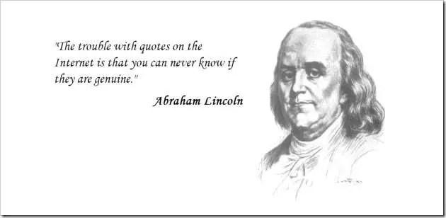 Ben Franklin misquote