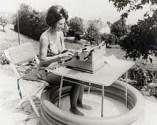 woman+typewriter+pool