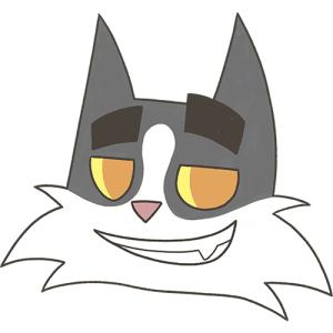 Face Dad Cat