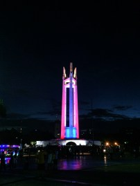 the beauty of QMC monument at night