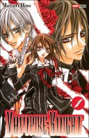 Vampire knight tome 1 manga vampires cohabitation collège chasseurs sang pur pouvoirs amour triangle amoureux secrets