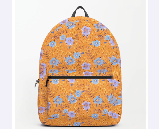 Backpack with pattern by Littlcrow