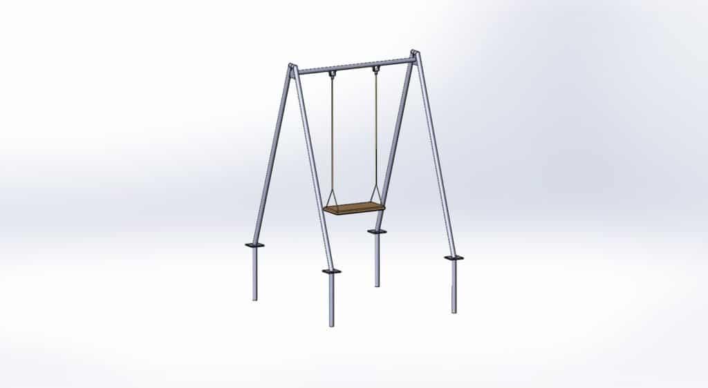 Drawing Swing pieghevole
