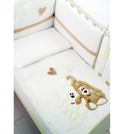 Комплект в кроватку Baby Expert Cremino (4 предмета)