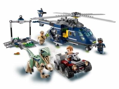 Конструктор Lego Jurassic World 75928 Мир Юрского Периода Погоня за Блю на вертолёте