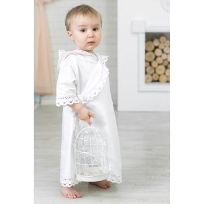 Alivia Kids Крестильная рубашка Ажурный хлопок 18.002.10