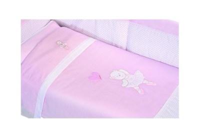 Комплект в кроватку Andy & Helen Мишка Балерина Balletto короткий борт (6 предметов)