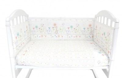 Комплект в кроватку Baby Nice (ОТК) Саванна (6 предметов)