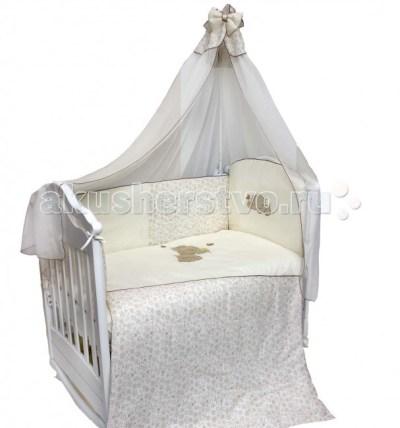 Комплект в кроватку Bombus Милый слоник (7 предметов)